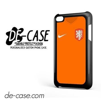 Holland Soccer Jersey For Ipod 4 Ipod Touch 4 Case Phone Case Gift Present YO