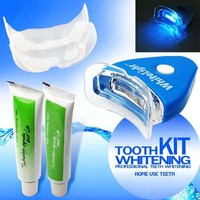 DCCKF4S Home Kit Teeth Tooth Whitening Gel White for Oral Bleaching Professional Peroxide