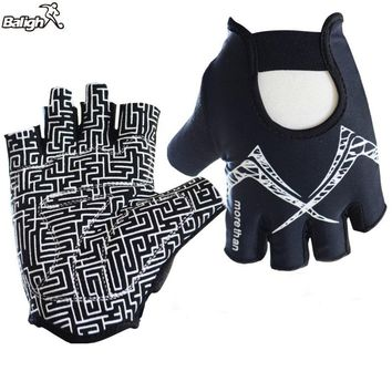 Balight Half Finger Fitness Sport Gym Gloves Weight Lifting Dumbbell Crossfit Barbell Power Training  Cycling Riding Gloves