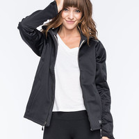 Under Armour Coldgear Infrared Womens Softershell Jacket Black  In Sizes