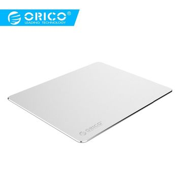 ORICO Aluminum Mouse Pad Gaming with 1.5mm Aluminum 0.5mm Rubber Computer  Mousepad  for Home Office Business  (AMP2218)
