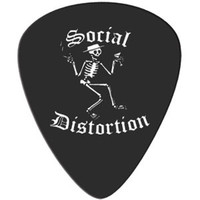 Social Distortion Guitar Pick