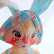 Vintage Annalee Mobilitee Large Easter Rabbit Doll 1971