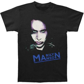 Marilyn Manson Men's  Oversaturated Photo T-shirt Black Rockabilia