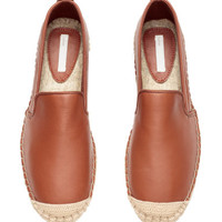 H&M Leather Espadrilles $39.99