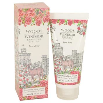 True Rose by Woods of Windsor Hand Cream 3.4 oz