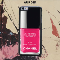 Chanel Nail Polish Rose Exuberant IPhone 6S Case Auroid