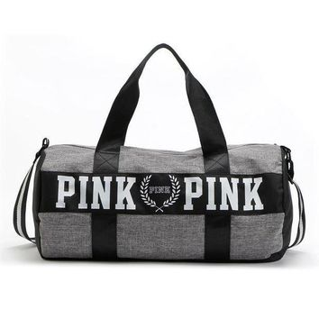 DCCK8H2 PINK Victoria's Secret Sport Yoga Satchel Travel Bag Shoulder Bag Crossbody