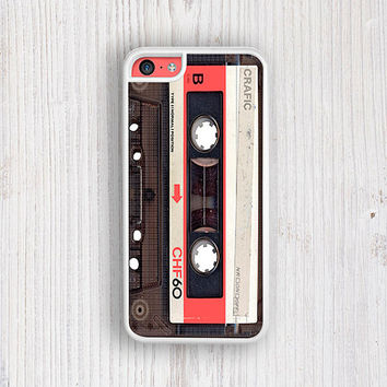 Red Vintage Cassette iPhone 5C Case