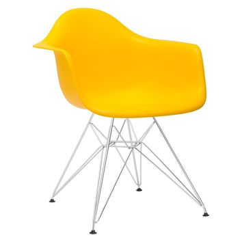 Padget Arm Chair in Yellow
