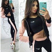 Nike Fashion Casual Sports 3-piece Set Sportswear