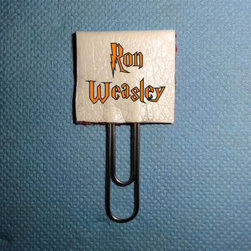 Ron Weasley Planner Clips. Page Markers Book Marks. Planner Clips. Planner Clips Bookmarks, Planner Supplies Accessories. Bookmarks Planner