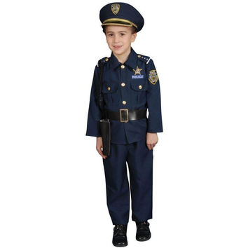 Police Toddler 3 To 4