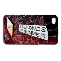 Five Seconds of Summer iPhone Case 5 SOS Brick Wall Music iPod Case iPhone 4 iPhone 5 iPhone 5s iPhone 4s iPhone 5c iPod 4 Case iPod 5 Case