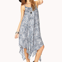 Gone Boho Paisley Dress
