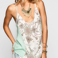 O'neill Montee Womens Tank Cream  In Sizes