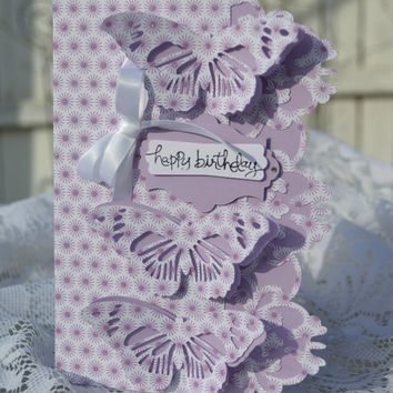 Elegant Birthday Card / Feminine