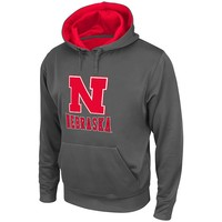 Colosseum Nebraska Cornhuskers Swift Fleece Performance Hoodie