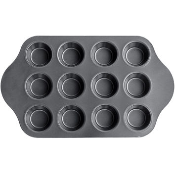 Evelots 12 Cup Delue Mini Cheese Cake Pan - Desserts, Cupcakes, Muffins