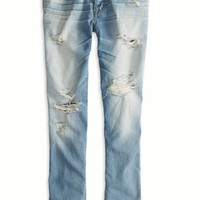 AEO 's Boy Jean Crop (Medium Destroyed)
