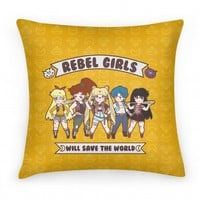 Rebel Girls will Save the World