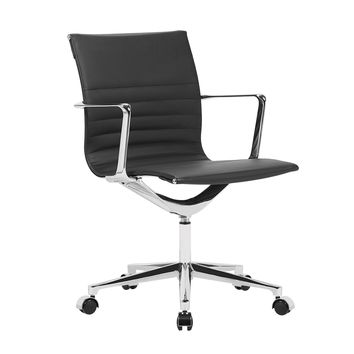 Em Office Chair Mid Back Black