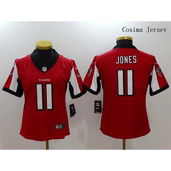 Danny Online Nike NFL Jersey Women's Vapor Untouchable Color Rush Atlanta Falcons #11 Julio Jones Football Jersey Red