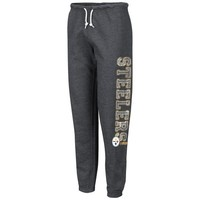 Pittsburgh Steelers Ladies Sport Princess III Sweatpants - Charcoal