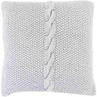 Genevieve Pillow ~ Silver Gray