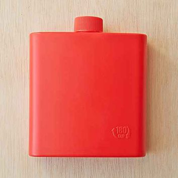 Camping Flask- Red One