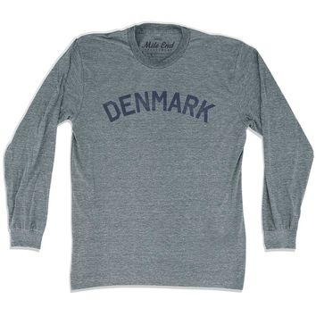Denmark City Vintage Long Sleeve T-shirt