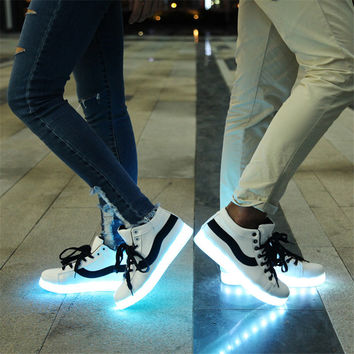 Couple Lightning Shoes Multi-color Korean Men's Shoes [9257113164]