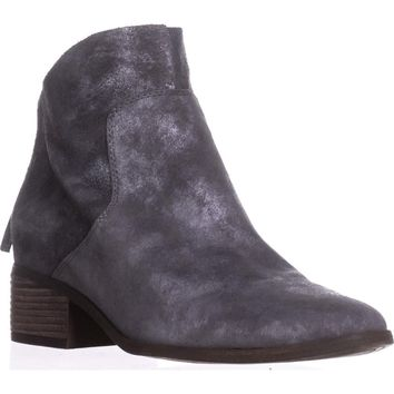 Lucky Brand Lahela Ankle Boots, Charcoal, 6.5 US / 36.5 EU