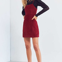 Cooperative Corduroy Straight-Neck Mini Dress | Urban Outfitters