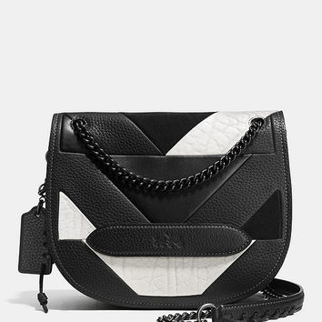 COACH SHADOW CROSSBODY IN PIECED LEATHER | Dillards
