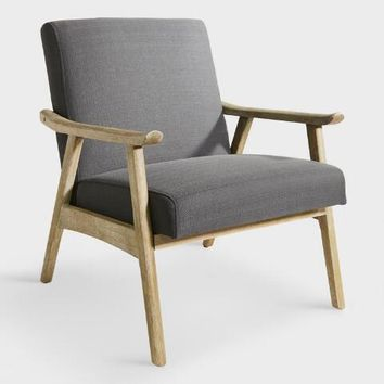 Charcoal Gray Jake Armchair
