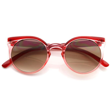 Vintage Retro 1950s Round Fashion Frame Sunglasses 8619