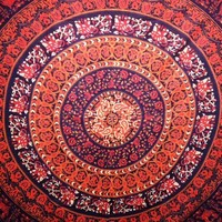Mandala Tapestry 8 - Mellow Mood