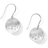 Brighton Cosmos French Wire Earrings in Silver