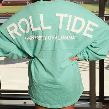 Tuskwear Roll Tide Spirit Jersey-Mint