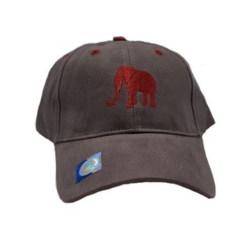 Alabama Crimson Tide Elephant Grey Cap | BAMA Elephant Cap | Alabama Crimson Tide Grey Hat