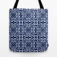 Blue Tote Bag by Shelly Bremmer