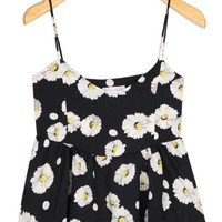 Cute Daisy Cropped Top - OASAP.com