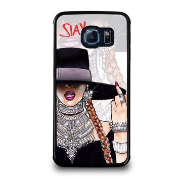 BEYONCE I SLAY Samsung Galaxy S6 Edge Case Cover