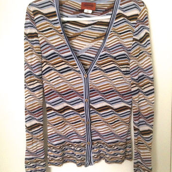 Missoni Button Up Sweater