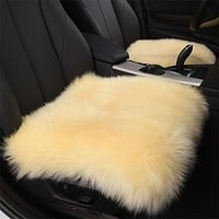 Faux Fur Seat Cover