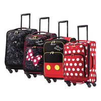 Disney® 21-Inch Softside 4-Wheel Spinner Carry On from American Tourister®
