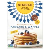 Simple Mills Gluten Free Pancake & Waffle Almond Flour Mix 10.7 oz