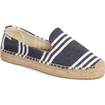 Soludos Striped Espadrille Slip-On (Women) | Nordstrom