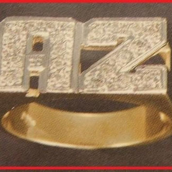 14k gold overly  any Name Rings letters personalized jewelry/gifts/a5